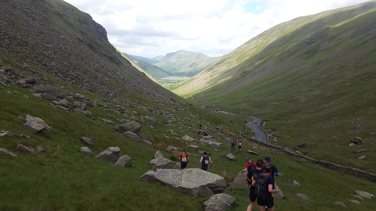 descent towards brothers water