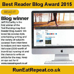 Best Reader Blog 2015: Trail Running Magazine