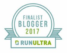 RunUltra Worldwide Blogger of the Year Finalist 2017