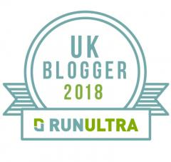 RunUltra UK Blogger Award 2018