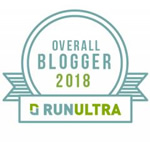 RunUltra Overall Global Blogger Award 2018 feat