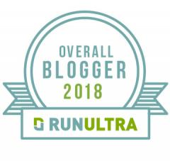 RunUltra Overall Global Blogger Award 2018