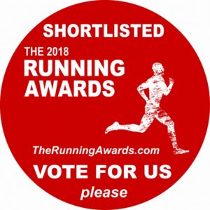 Shortlisted The Running Awards Best Blog 2018