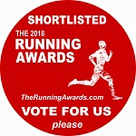 The Running Awards Best Blog Shortlist 2018