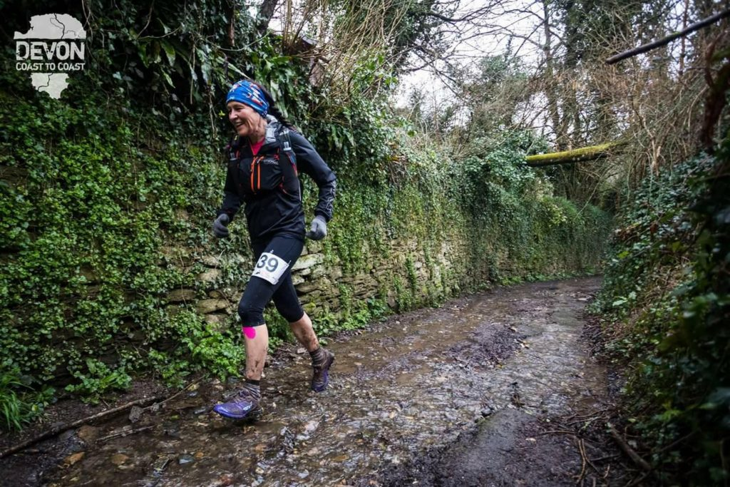 Louise greenwood Running the Devon Coast-to-Coast Ultra