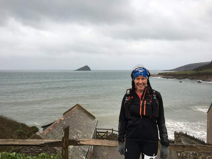 louise greenwood devon coast to coast ultra start