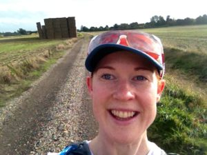 claire maxted on the trails