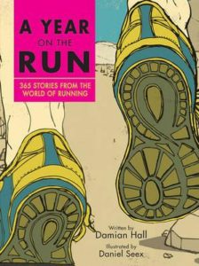 Book cover A Year On The Run by Damian Hall