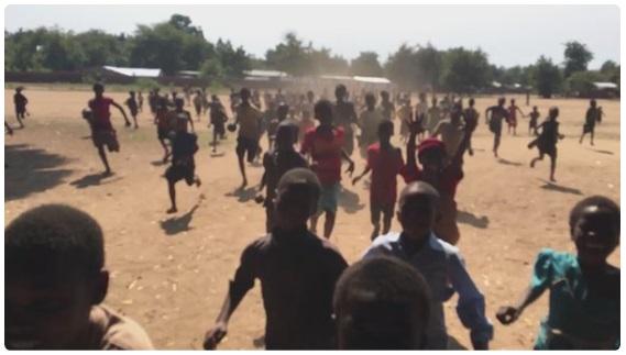 brendan rendall running in malawi