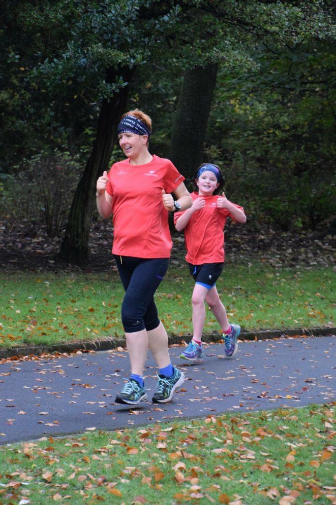 Rachel Edmunds after running